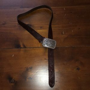 Justin belt with buckle